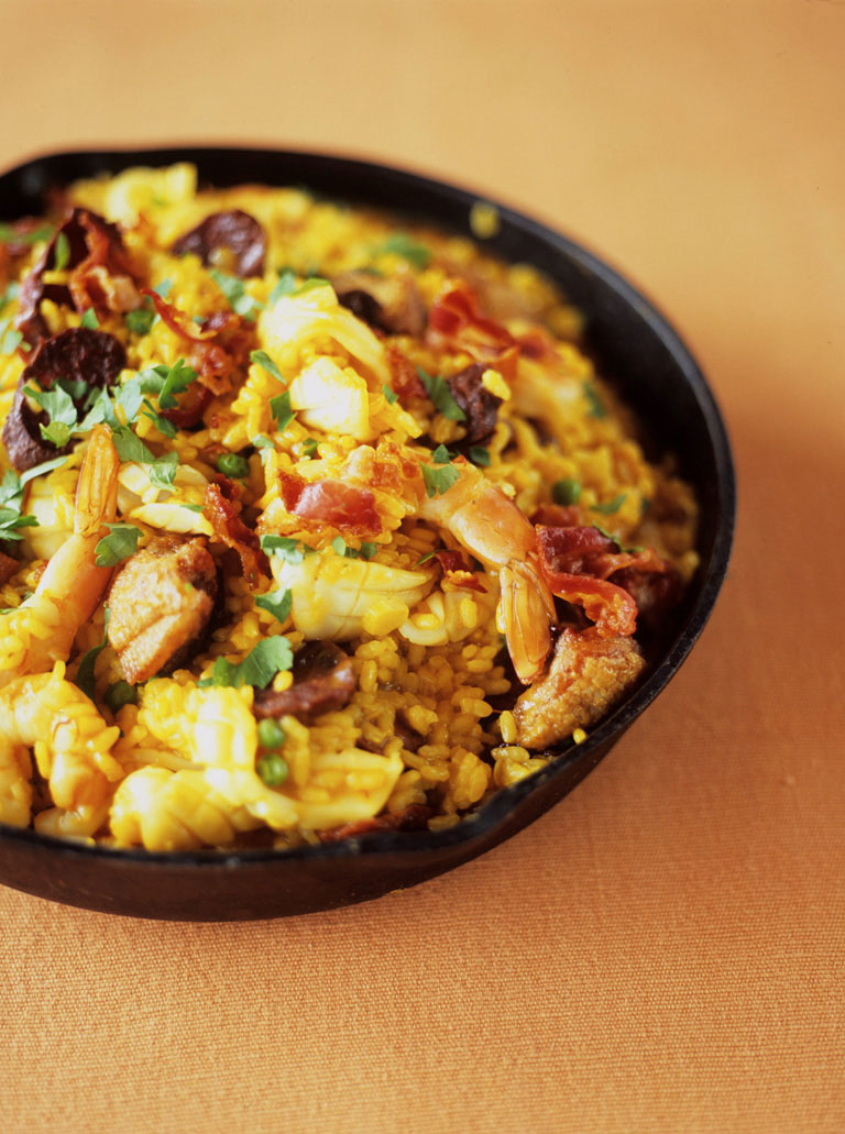 Paella? What a great idea!