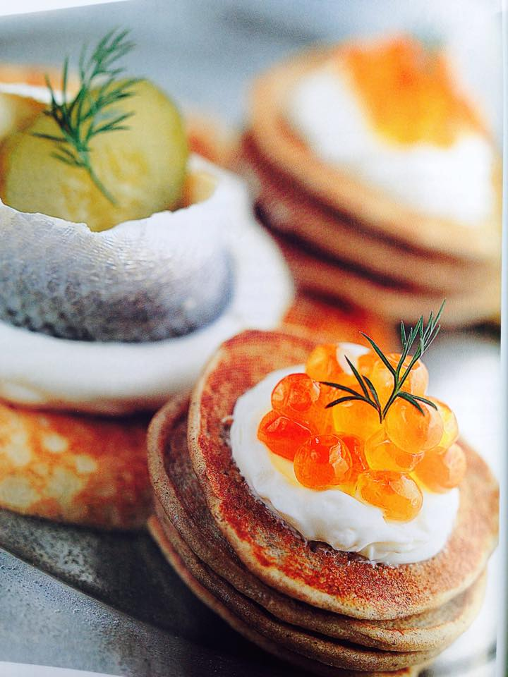 Blini, Traditional and Gurevskie