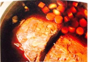 braised beef_left to marinate for 3 days