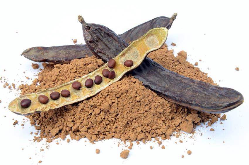 Carob instead of cocoa to remain healthy