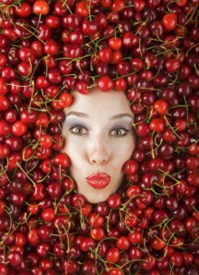 Cherries on the block for a forever young face!
