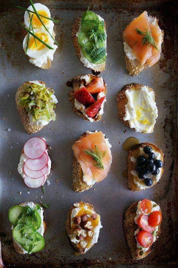 Crostini for summer party!
