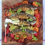 Mighty Mackerel with Mixed Tomato and Quinoa
