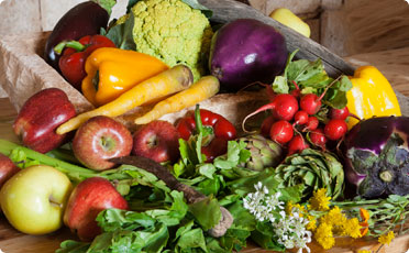 Fruits and vegetable for Fall