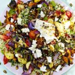 Griddled vegetables & feta with...